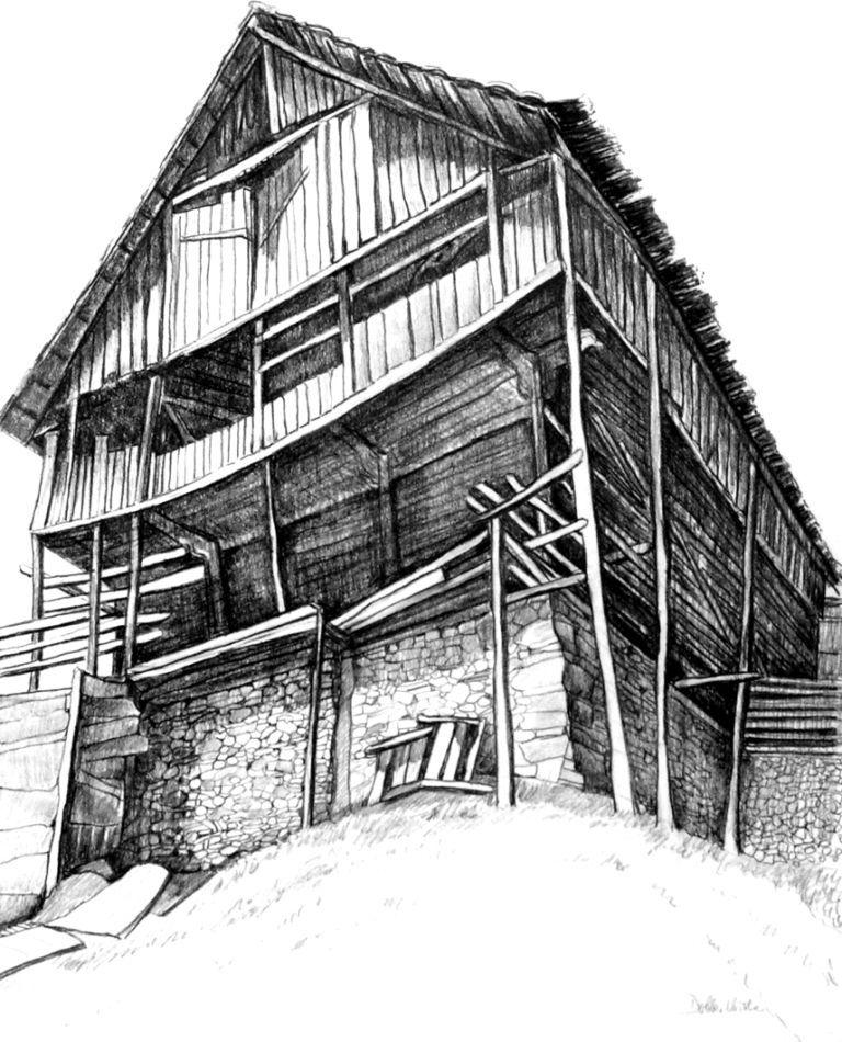 Christine Dobler: Zeichnung, Bleistift